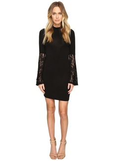 ROMEO & JULIET COUTURE Long Sleeve Lace Woven Dress