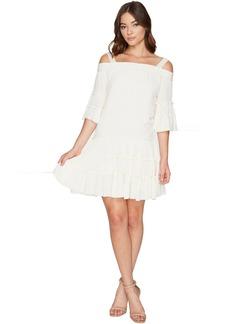 ROMEO & JULIET COUTURE Off the Shoulder Strap Midi Dress