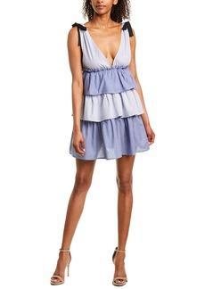 Romeo & Juliet Couture Patchwork Mini Dress