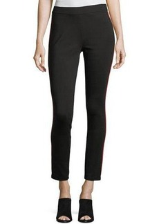 Romeo & Juliet Couture Ponte Track-Stripe Ankle Leggings