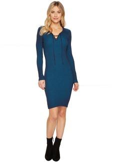 ROMEO & JULIET COUTURE Ribbed Knit Midi Dress