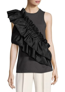 Romeo & Juliet Couture Ruffle Sleeveless Top