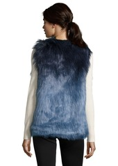 Romeo & Juliet Couture Sleeveless Faux Fur Vest