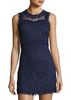 Romeo & Juliet Couture Sleeveless Lace Sheath Dress
