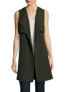 Romeo & Juliet Couture Solid Sleeveless Vest