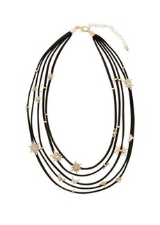 Romeo & Juliet Couture Starburst & Moon Multi-Strand Necklace