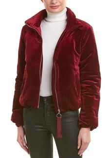 Romeo & Juliet Couture Velvet Puffer Jacket