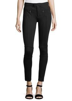 Romeo & Juliet Couture Zip-Pocket Ponté Trouser Pants