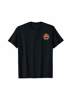 Romeo & Juliet Couture Romeo & Juliet Heart Crest Left Chest T-Shirt