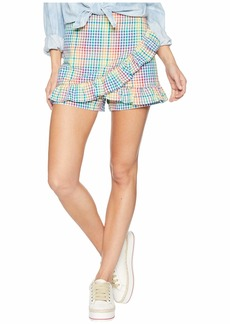 Romeo & Juliet Couture Ruffle Front Skort
