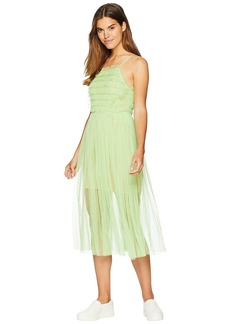 Romeo & Juliet Couture Ruffle Mesh Dress