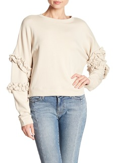 Romeo & Juliet Couture Ruffle Sleeve Pullover