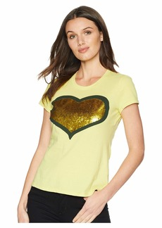 Romeo & Juliet Couture Sequin Heart T-Shirt