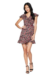 Romeo & Juliet Couture Short Sleeve Floral Dress