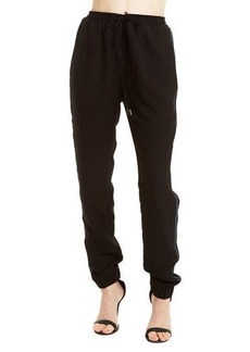 Romeo & Juliet Couture Side-Stripe Jogger Sweatpants