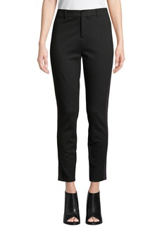 Romeo & Juliet Couture Side-Taped Ponte Trouser Pants