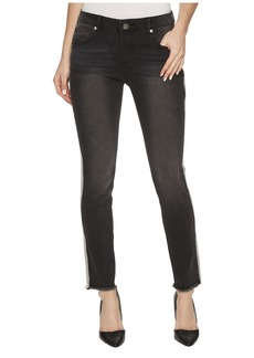 Romeo & Juliet Couture Side Trim Detail Skinny Jeans in Black