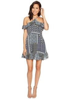 Romeo & Juliet Couture Sleeveless Off Shoulder Dress