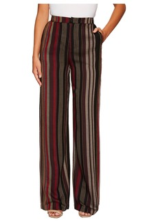 Romeo & Juliet Couture Straight Leg Stripe Pants