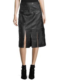 Romeo & Juliet Couture Studded Knee-Length Straight Skirt