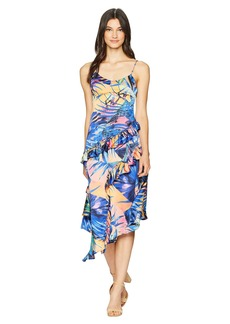 Romeo & Juliet Couture Tropical Print Dress