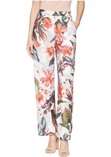 Romeo & Juliet Couture Tropical Print Pants