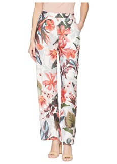 Romeo & Juliet Couture Tropical Print Pants