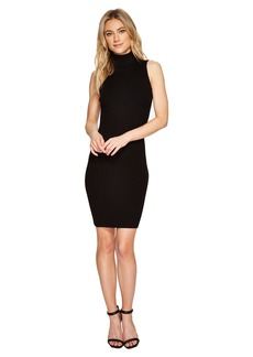 Romeo & Juliet Couture Turtleneck Ribbed Knit Dress