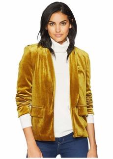 Romeo & Juliet Couture Velvet Shawl Collar Blazer