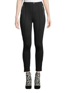 Romeo & Juliet Couture Zip-Pocket High-Waist Ponte Leggings