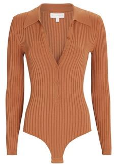 Ronny Kobo Cyndie Rib Knit Polo Bodysuit