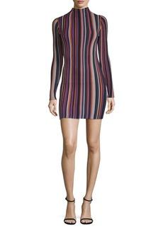 Ronny Kobo Jessica Striped Mini Dress