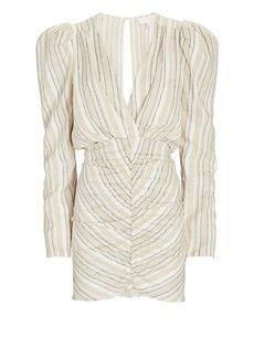 Ronny Kobo Joslyn Striped Mini Dress