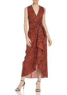 Ronny Kobo Daphna Zebra-Print Maxi Dress