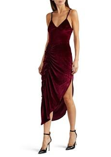 Ronny Kobo Women's Ahn Ruched Velvet Dress