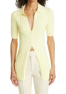 Ronny Kobo Women's Waverly Short Sleeve Rib Cardigan
