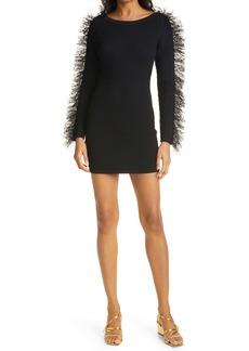 Ronny Kobo Yasmin Long Sleeve Minidress
