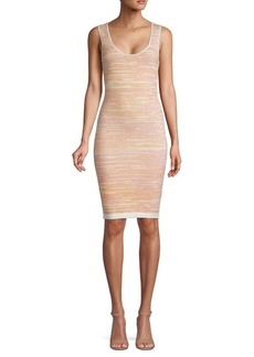 Ronny Kobo Textured Sheath Dress