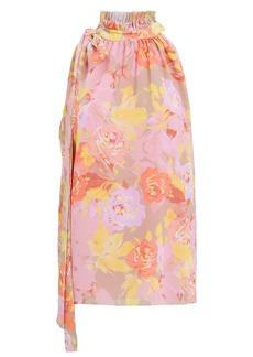 Ronny Kobo Valencia Floral Crepe Sleeveless Top