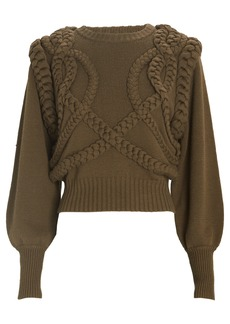 Ronny Kobo Yeva Cable Knit Sweater