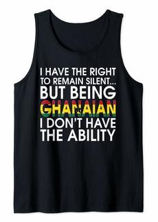 Ghanaian Roots Pride Ghana Flag Ghanaians Gift T-Shirt Tank Top