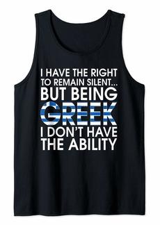 Greek Roots Pride Greece Flag Greeks Hellenes Gift T-Shirt Tank Top
