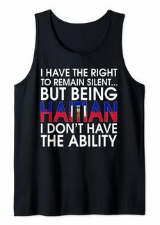 Haitian Roots Pride Haiti Flag Haitians Gift T-Shirt Tank Top