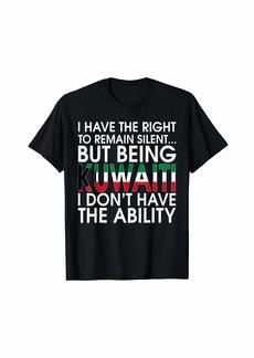 Kuwaiti Roots Pride Kuwaitis Flag Kuwait Gift T-Shirt T-Shirt