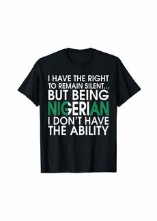 Nigerian Roots Pride Nigeria Flag Nigerians Gift T-Shirt T-Shirt