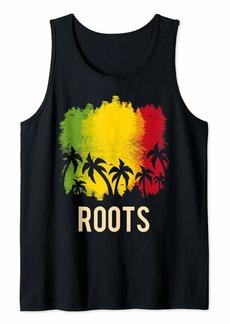 Reggae Roots rock reggae jamaica Tank Top