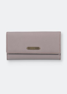Roots Ladies Rfid Slim Clutch Wallet