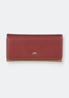 Roots Trifold Rfid Slim Clutch Wallet