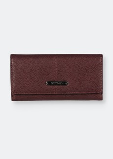 Roots Trifold Slim Clutch Wallet