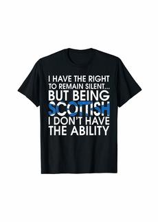Scottish Roots Pride Scotland Flag Scotsmen Gift T-Shirt T-Shirt